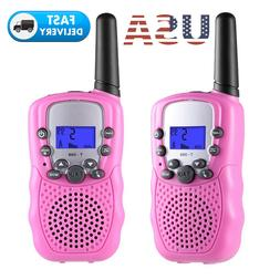 1 Pair Up to 5 Miles Walkie Talkies for Kids Child Todllers