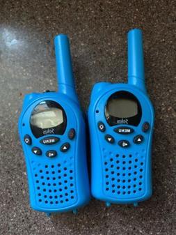 1 pair SOKOS Walkie Talkies 6 km range 2 Way Radio Blue