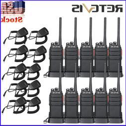 10* Retevis H777S Walkie Talkies Scrambler Battery Save UHF4