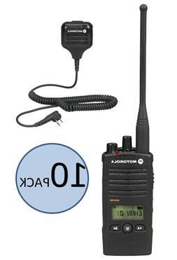 10 Motorola RDU4160D Two Way Radio Walkie Talkies with Speak