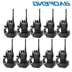 10 x Baofeng BF-888S Two Way Radio 400-470MHz Walkie Talkie