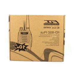 100% NEW Two Way Radio Walkie Talkie FDX FD-850 PLUS UHF 10W