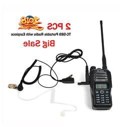 10W UHF VHF Dual Band walkie talkies VOX TOT + Free Acoustic