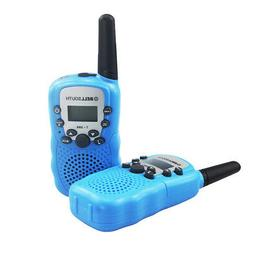 2 Mile Outdoor 2Pcs Walkie Talkie Kids Electronic Toys Two-W