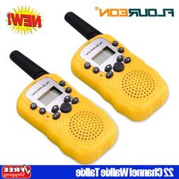 2 Pack 22 Channel Walkie Talkies 3KM Handheld Interphone Two
