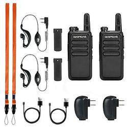 2 Pack Baofeng BF-R5 Walkie Talkies Long Range Two Way Radio