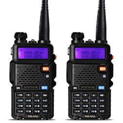 2 Pack Baofeng UV-5R Walkie Talkies 136-174/400-520MHz DTMF