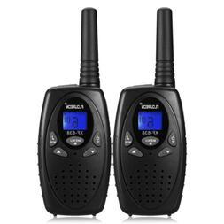 2 pack walkie talkies uhf462 467mhz 2