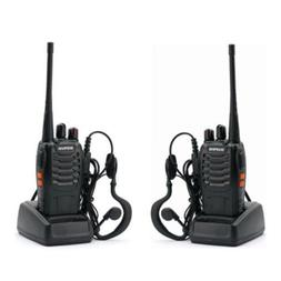 2 Piece Baofeng BF-888S UHF 400-470MHz Two-way Ham Radio 16C