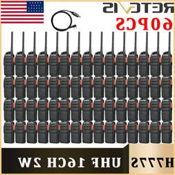 2*Portable Retevis H777 Walkie Talkie 16CH 5W UHF CTCSS two