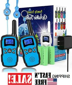 2 Walkie Talkie for Kids Rechargeable, UHF Two Way Radio for
