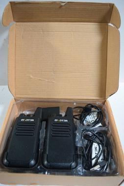 2 Walkie Talkie Retevis RT22 UHF 16CH TOT VOX Scan Squelch T