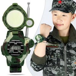 2* Walkie Talkies Watch Child Kids Watches Two-way Radios In