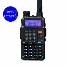 2 Way Dual Band  Transceiver Handheld Radio Scanner High Pow