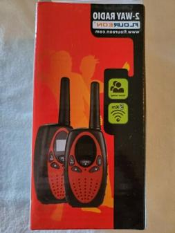 Floureon 2-way Radios  Kids Walkie talkies. 22 channel 3000m