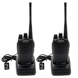 2 x BAOFENG BF-777S UHF 400-470MHz 5W Ham Two Way Radio Long