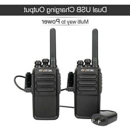 6XRetevis  Walkie Talkie RT27 2-Way Radio VHF license-free MURS Battery save VOX