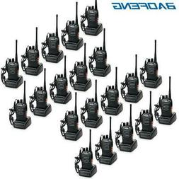 20 x Baofeng BF-888S Two Way Ham Radios UHF 400-470Mhz 16CH