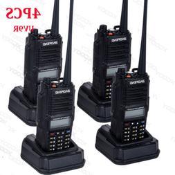 2018 4PCS BaoFeng UV9R Waterproof VHF/UHF Ham Dual-Band Radi
