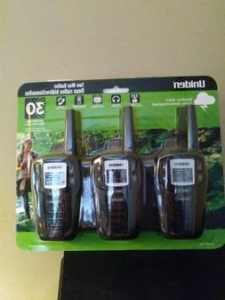 Uniden 22-Channel FRS/GMRS 30-Mile Two Way Radio Walkie Talk