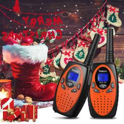 FLOUREON 22 Channel Walkie Talkies FRS/GMRS 462-467MHZ Two-W