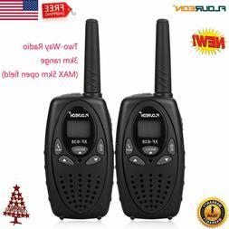 22CH Walkie Talkies UHF462-467MHz Two-Way Radio 3KM/5KM LCD