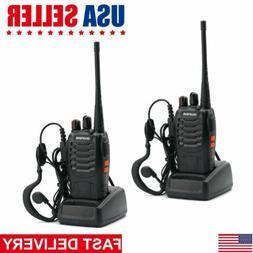 2Pack Baofeng BF-888S Two-way Radio UHF Handheld 2Watt Walki