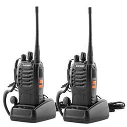 2PC Long Range Walkie Talkie Set 10km 2 Way 16CH Radio Heads