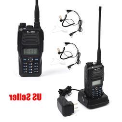 2PC UHF VHF Walkie Talkie Portable Ham Radio Long Range 2600