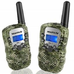 2PC Wishouse Walkie Talkie T-388 for Kids Longrange Handheld