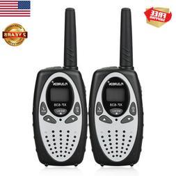 2PCS FLOUREON 22CH Walkie Talkies UHF 462-467MHz 2-Way Radio