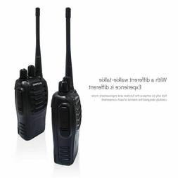 2Pcs Baofeng BF-888S Mini Walkie Talkie Portable Radio BF888
