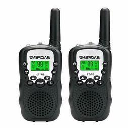 2PCS BaoFeng BF-T3 Kids Walkie Talkies Mini Two Way Radios U
