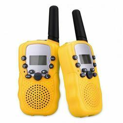 2pcs Children Kids UHF Walkie Talkie Handheld Two-Way Radio
