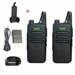 2pcs WLN KD-C1 MINI handheld two way Radio  cb radio station