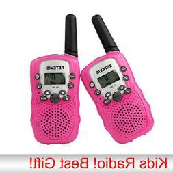 2pcs Kids Walkie Talkie Kit VOX Two-Way Rechargeable Radio C