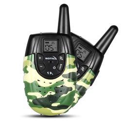 2Pcs Luiton Kids Children Handheld Electronic Walkie Talkie
