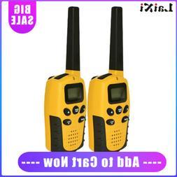 2pcs Mini Walkie Talkies Long Range Two Way Ham Radio CTCSS/