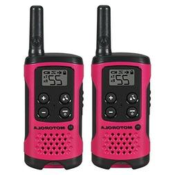 2Pcs MOTOROLA Two Way Radio Walkie Talkie Waterproof Recharg
