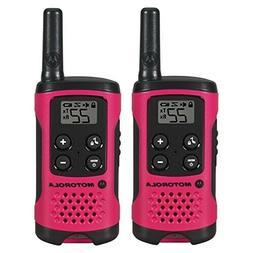 2Pcs MOTOROLA Two Way Radio Walkie Talkie Waterproof Recharg