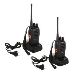 2PCS Portable Baofeng BF-666S 5W UHF 400-470 MHz Two-way Rad
