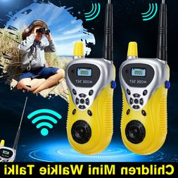2Pcs Walkie Talkie Kids Electronic Toys Portable Two-Way Rad
