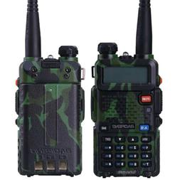2pcs Walkie Talkie BAOFENG UV-5R Auto Squelch UHF Two-Way Ra