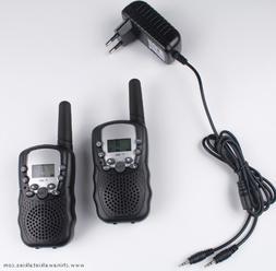 2pcs walkie talkies T388 PMR446 mobile radio communicator VO