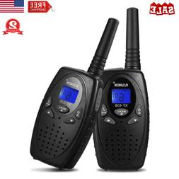 2X 22 Channel Walkie Talkies UHF 462-467MHz Handheld LCD Two
