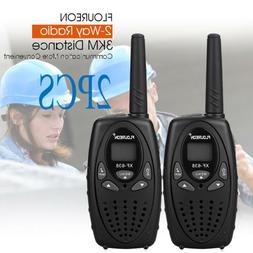 2x 22channel walkie talkies uhf 462 467mhz