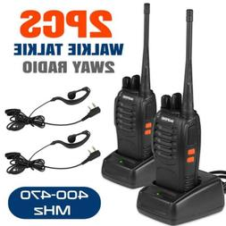 2x baofeng walkie talkie 2 two way
