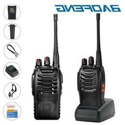 2x Baofeng BF-888S Two Way Radio Rechargeable 2800 mAh Walki