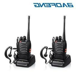 2x Baofeng BF-888S Two Way Radio Walkie Talkie UHF 400-470MH