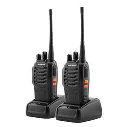 2X Baofeng BF-888S Walkie Talkies 400-470 MHz For Kids Two W